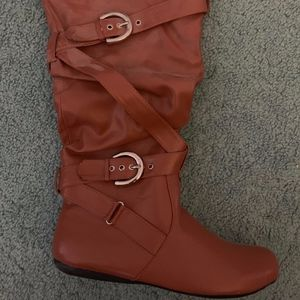 Never worn forever young tan boots